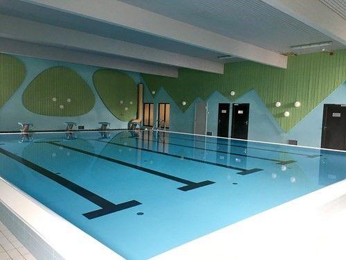 Ibestad svømmehall, innendørs, foto: Vibeke Skinstad