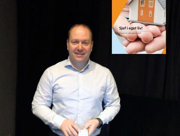 Foredragshaldar Odd Kjetil Tonning, Banksjef Privatmarknad, Sparebanken Sogn og Fjordane