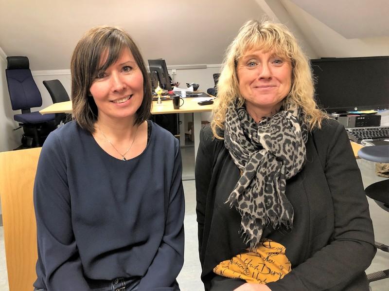 May-Lene Uberg og Aninta Nakkestad