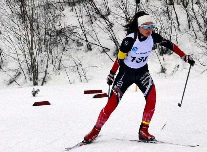 Sølv: Gunn Kristi Tvinnereim tok NM-sølv på normaldistansen.  Foto: Roy Aron Myklebust (arkiv)