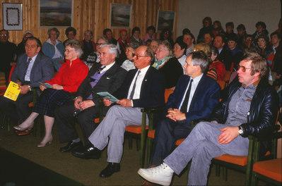 Gamle ordførere på rekke og rad