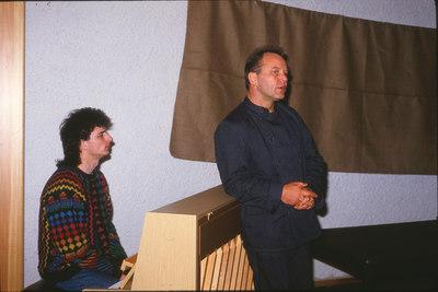 Trygve Hoff med pianist