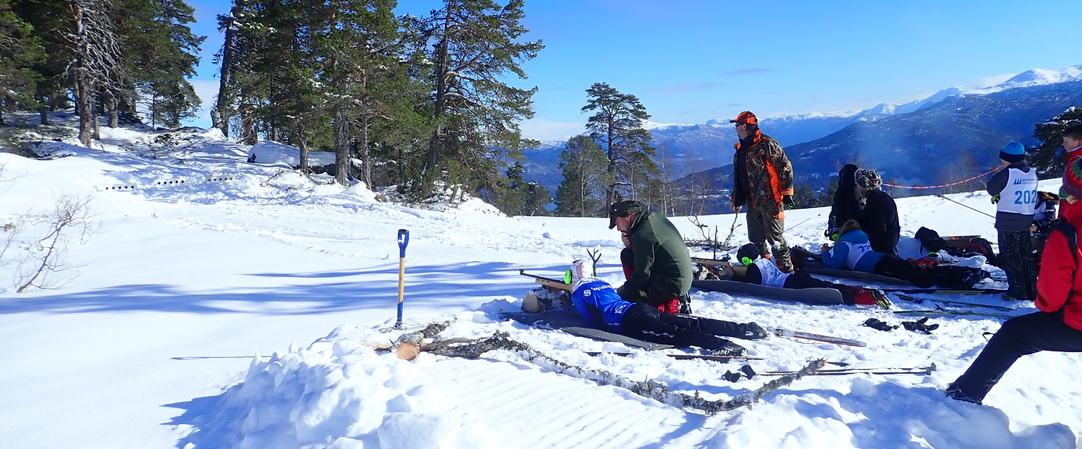 Standplass skiskying i Saurdal, foto JH