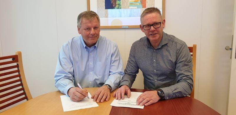Signering av avtale UE-FK 2019