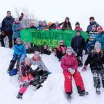 Gruppebilde_Friluftsskolen vinterferie 2019_Tine M Hagelin