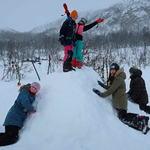 Friluftsskole vinterferien 2019 Tromsø_1_Tine M Hagelin