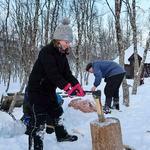 Friluftsskole vinterferien 2019 Tromsø_6_Tine M Hagelin
