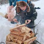 Friluftsskole vinterferien 2019 Tromsø_13_Tine M Hagelin