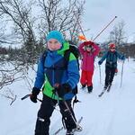 Friluftsskole vinterferien 2019 Tromsø_16_Tine M Hagelin