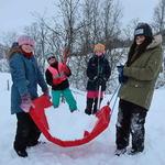 Friluftsskole vinterferien 2019 Tromsø_Tine M Hagelin