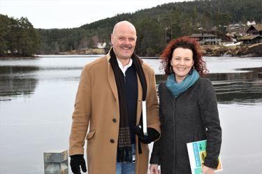 Nils Olav Larsen og Gro-Anita Mykjåland