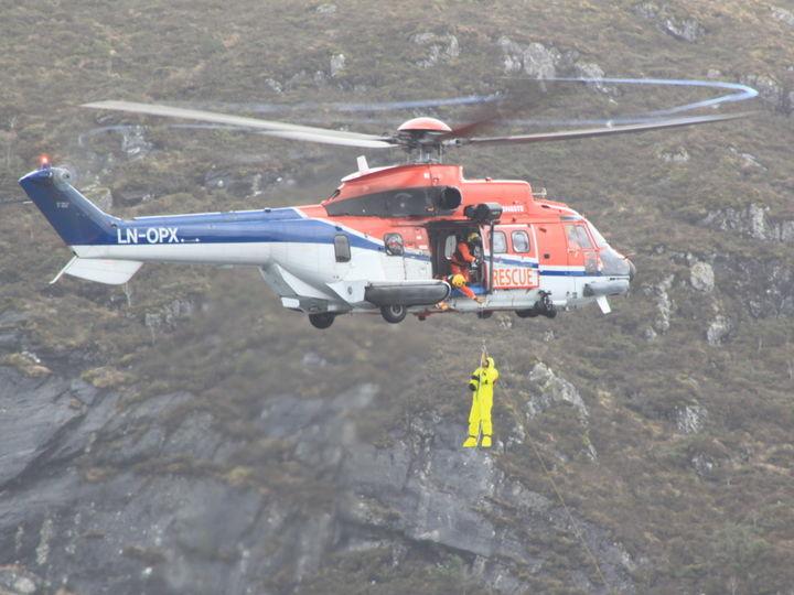 Pick-up øving på Skavøypollen