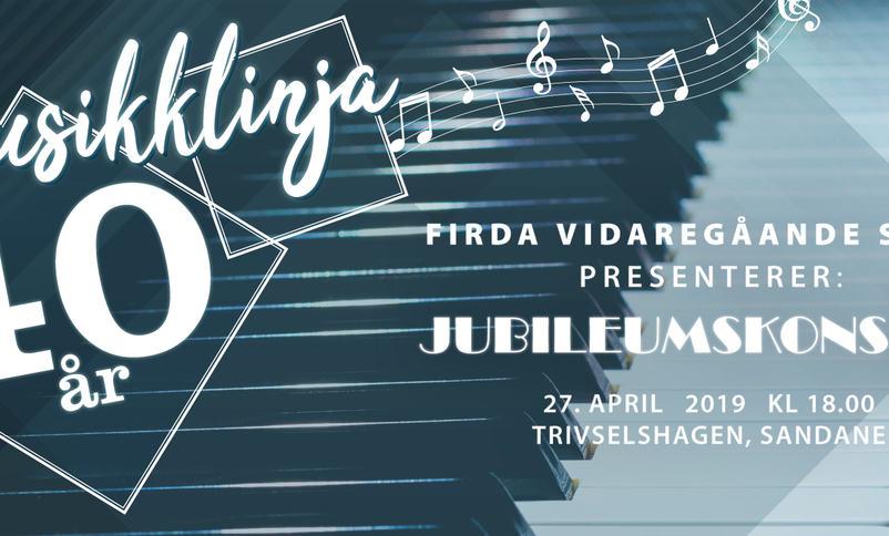 40-års jubileium på musikklinja