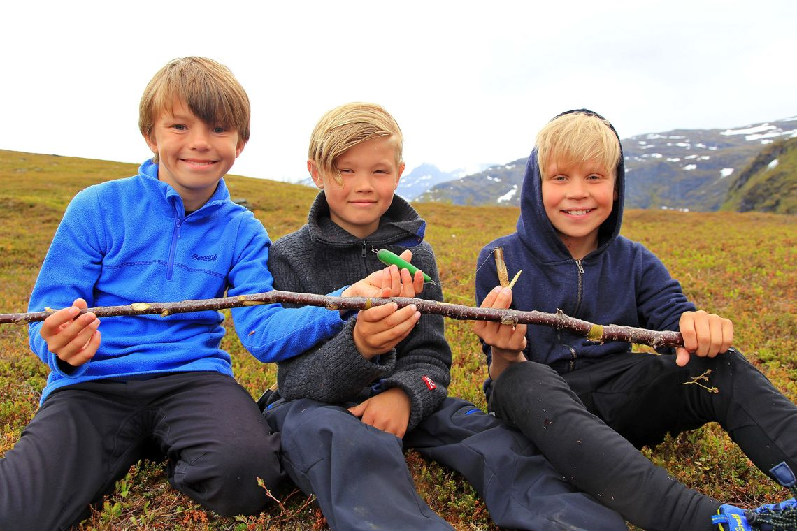Friluftsskole Storfjord_fiskegutter_ 2017 __Tine Marie Hagelin