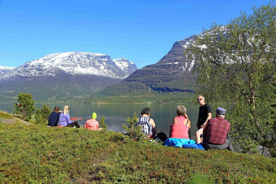 Sandørneset i Storfjord kommune ble sikret i 2017, som kommunens første statlig sikra friluftsområde. Foto: Tine Marie Hagelin