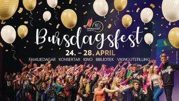 Bursdagsfest i Operahuset Nordfjord/Eid vidaregåande skule
