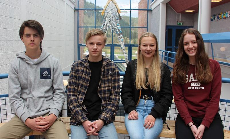 Elevar som har vore på Teknologidagane i Trondheim