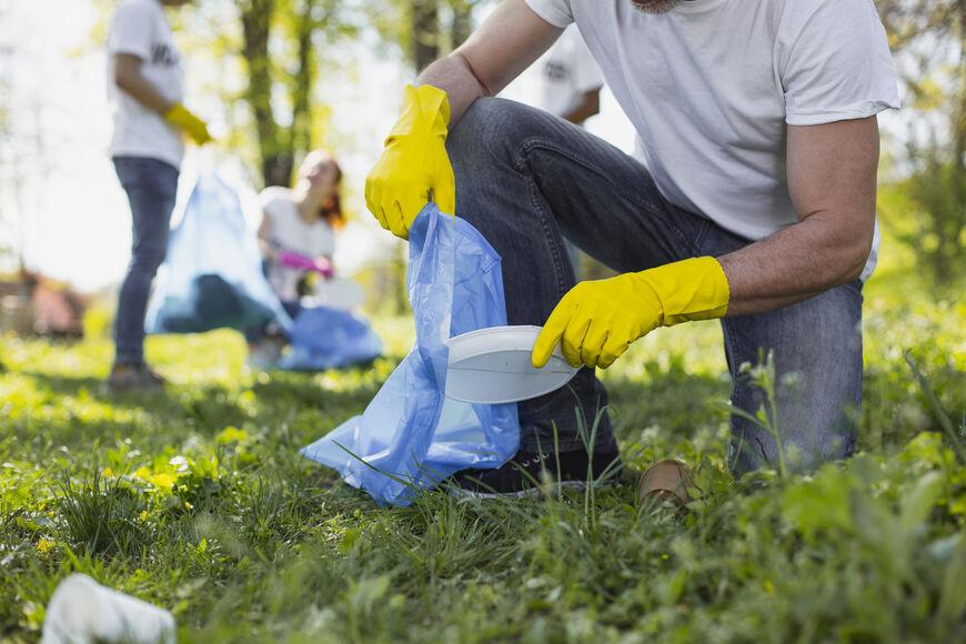 På miljøstasjonen kan du levere avfall frå ryddeaksjonar. Hugs då å oppgi aksjonskode, kven som har rydda og kvar henn.