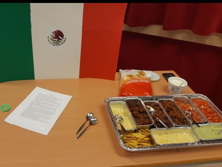 Mat frå Mexico