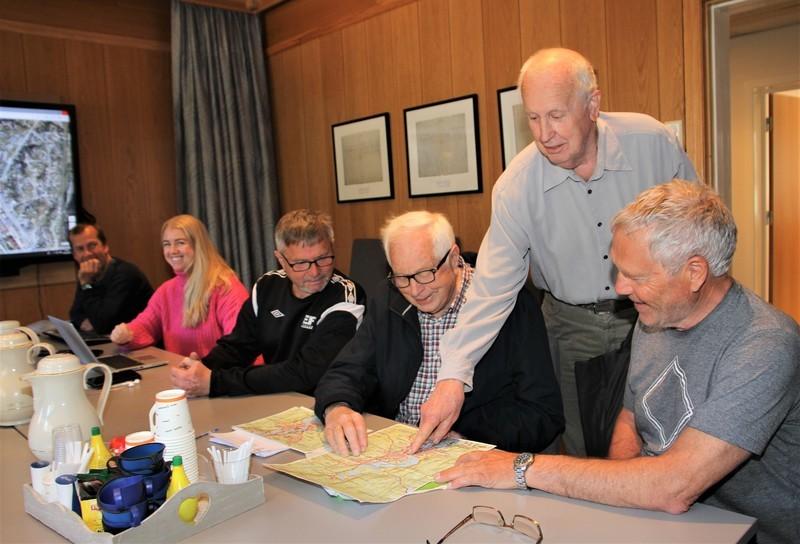 Lokalhistorikere legger fram skiltplan