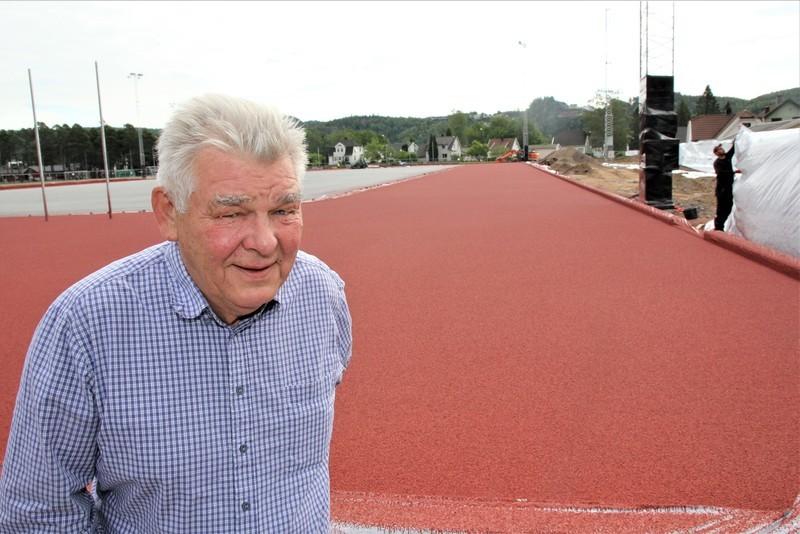 Jürgen Orf på Idrettsplassen