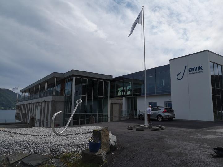 1sta og 1stb på besøk hos Ervik Havfiske
