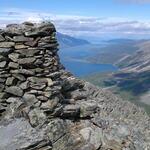 Utsikten fra 800-meteren er upåklagelig! Foto: Per-Helge Engen