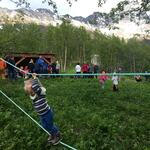 Jungelstedet egner seg godt også for småbarnsfamilien. Foto: Tine Marie Valbjørn Hagelin