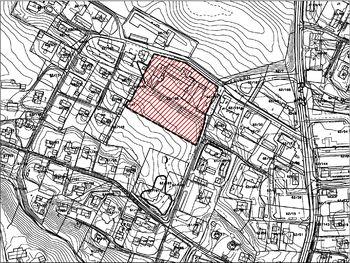 Bilde av kart over planområde