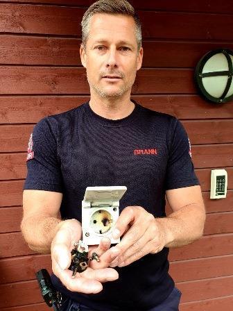Brannformann Morten Nygaard