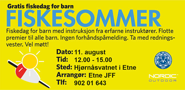 Annonse Fiskesommer 110819
