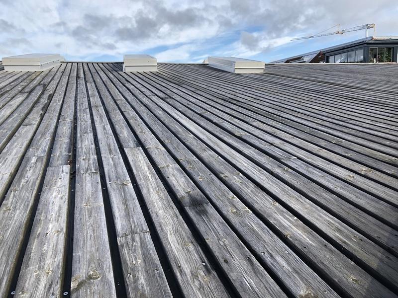 Taket på Kulturhuset