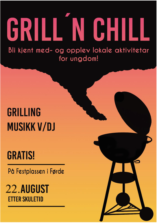 forside grill and chill 2019