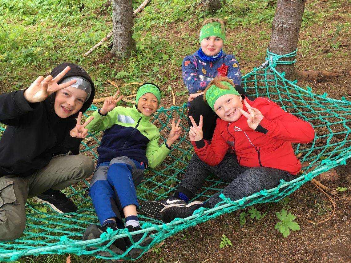 Friluftsskole på Holt 2019 Foto Toril Skoglund (24)