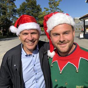 Steinar Larsen og Aleksander Etsy Jensen