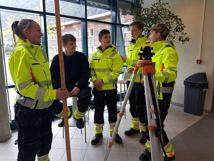Vg1 Bygg- og anlegg   Foto: Johanne Elisabett Sørdal