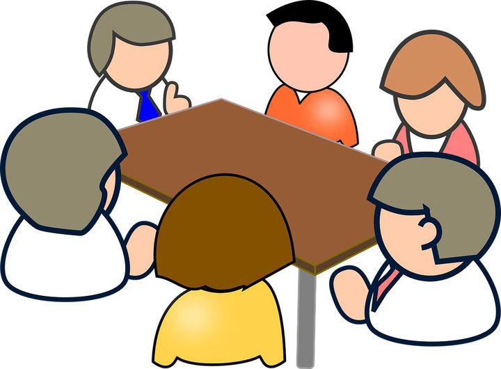 Illustrajon på møte