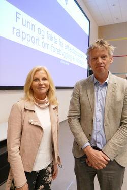 Lise Sannerud og Aage Thor Falkanger 2019