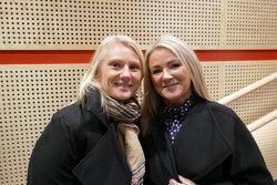 Tanja Rosså Ødegård og Gaby Groff Jensen 2019