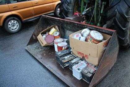 Innsamling av ymse farleg avfall
