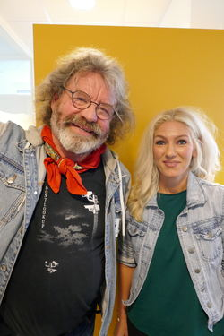 Beate Thorvaldsen og Stein Knudsen