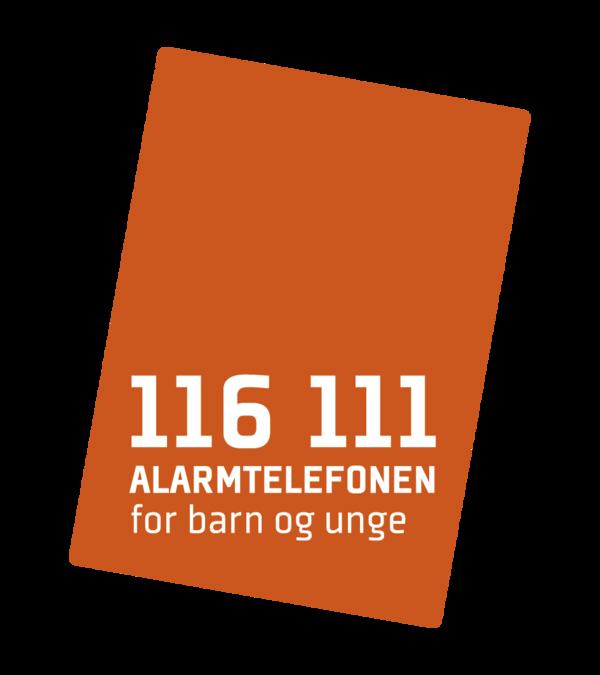 Logo Alarmtelefonen for barn og unge