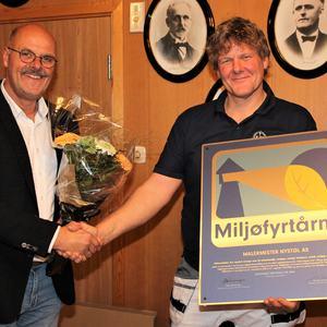 Jakob Nystøl og ordføreren