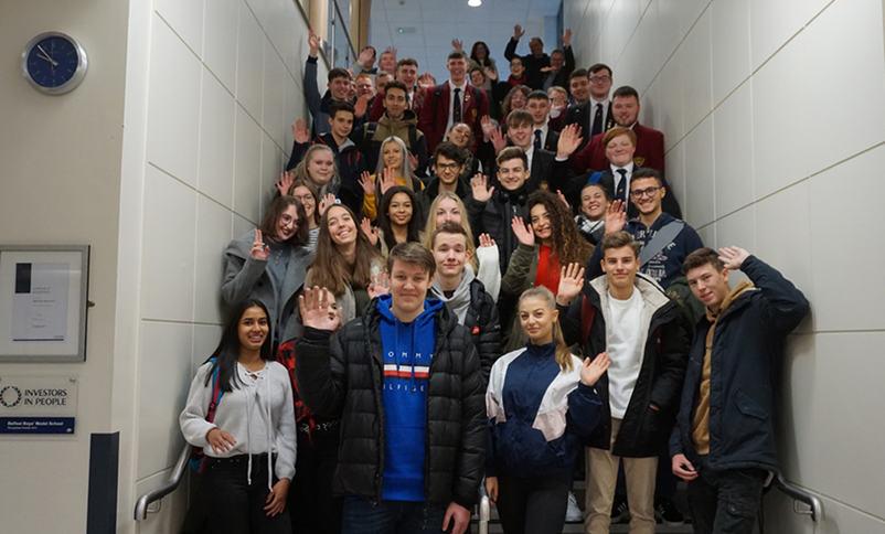 Belfast Boys' Model School. Foto: Karen Raff