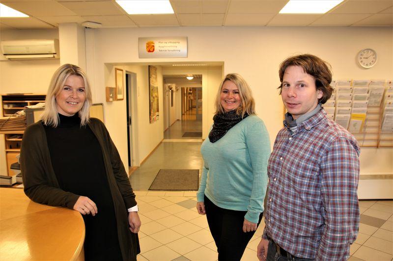 Anne Lene Nilsen, Linn Borgersen og Ola Skei Bekken