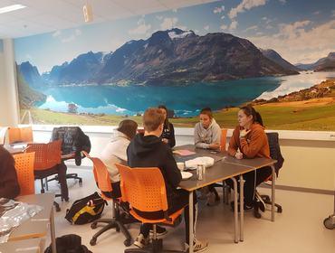 Hospitering 10.klasse i Nordfjord    Foto: Johanne Elisabett Sørdal