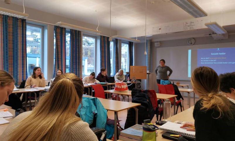 Føredrag i klasserom