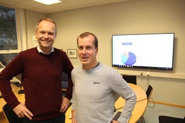 Vidar H. Homme og Eirik Aarrestad