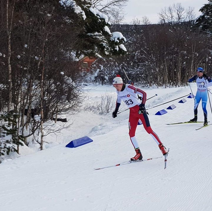 Landslinja Stryn Emil 1.plass på Geilo    Foto: Sjur Ole Svarstad