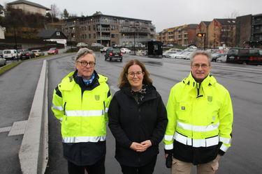 Egil Strømme, Ingrid S. Konsmo og Jo Viljam Drivdal.